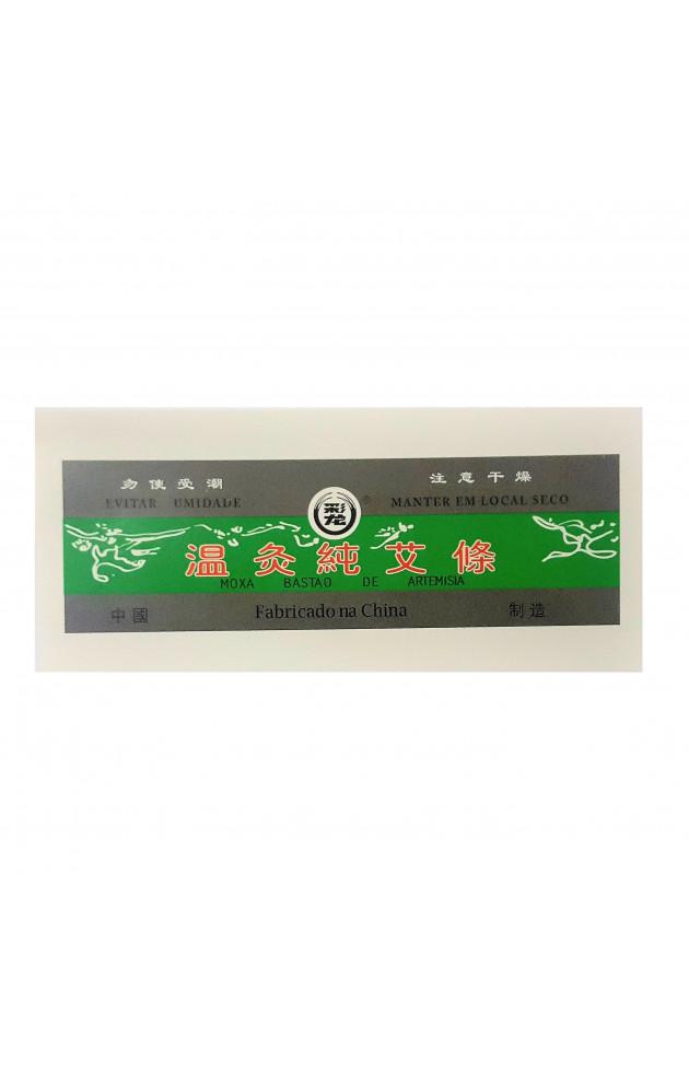Moxa Bastão Verde caixa com 10 unid