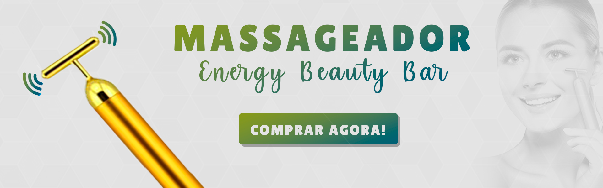 MASSAGEADOR ENERGY BEAUTY BAR
